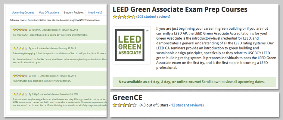 Green Educatio Services reviews